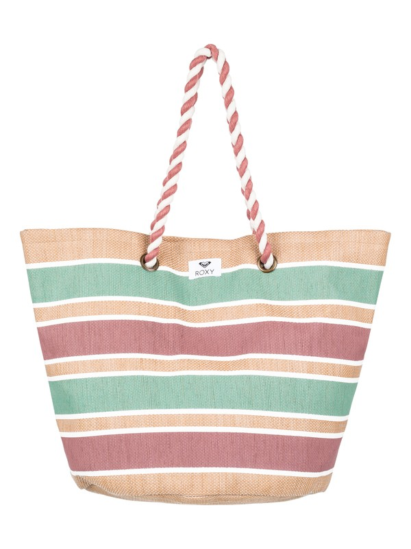 0 Sunseeker Straw Beach Bag Yellow ERJBT03101 Roxy