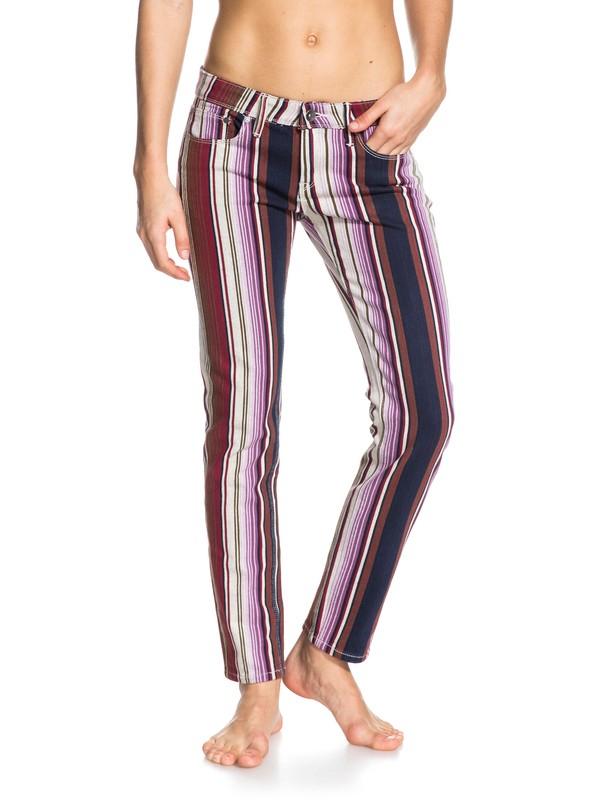 0 Suntrippers Stipe Jeans  ERJDP03037 Roxy