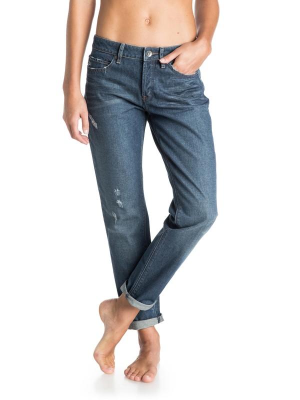 0 Rider Boyfriend Jeans  ERJDP03045 Roxy