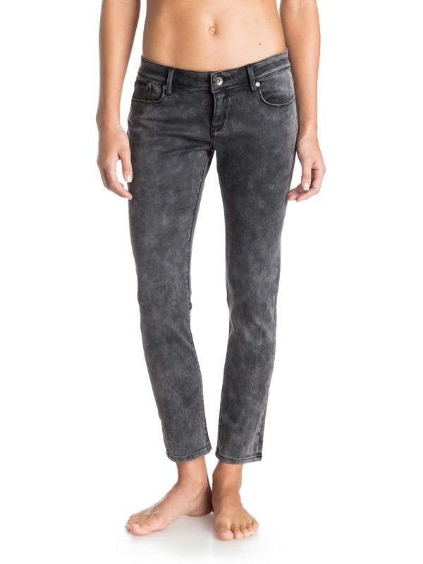 0 Suntrippers Cropped Jeans  ERJDP03081 Roxy