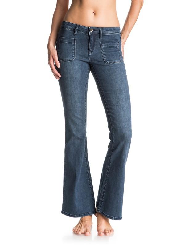 0 Farrah Classic Flared Jeans  ERJDP03105 Roxy