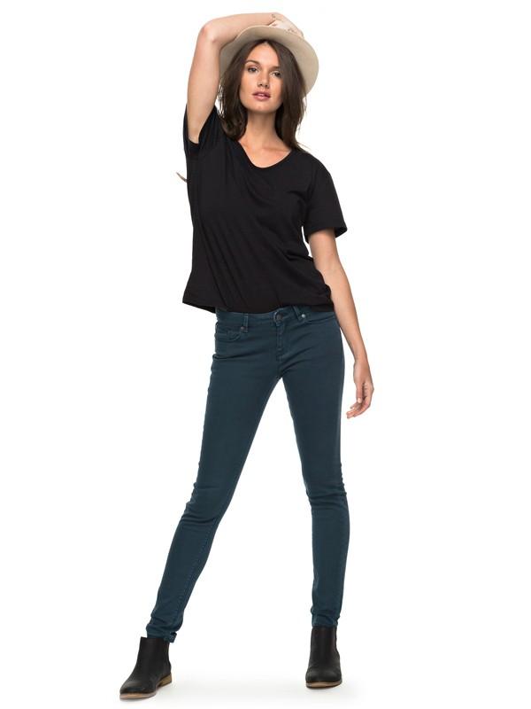 0 Suntrippers Colors - Skinny Fit Jeans for Women Blue ERJDP03158 Roxy