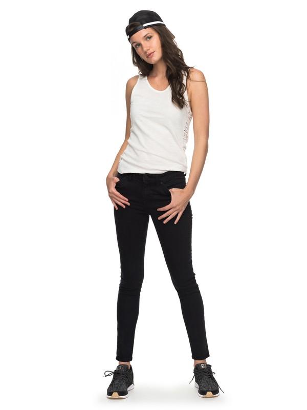 0 Seatripper - Jean skinny pour Femme Noir ERJDP03182 Roxy
