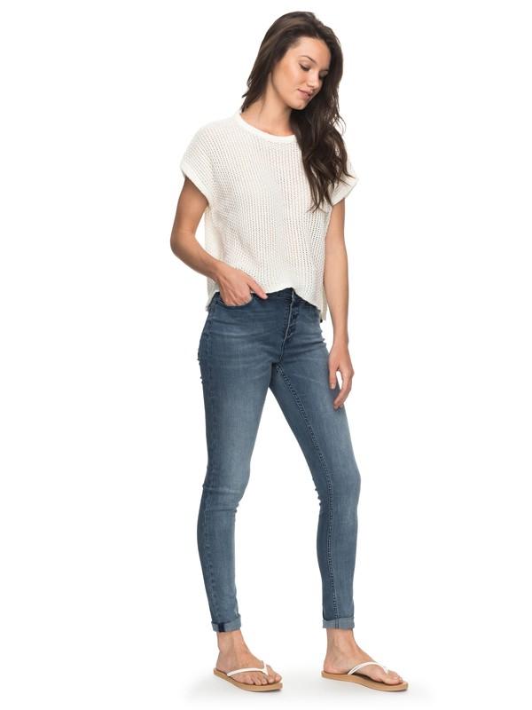 0 Sunny Bay Skinny Fit Jeans  ERJDP03186 Roxy