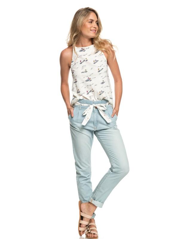 bahia sucia pantalon de plage en denim pour femme 3613373444721 roxy. Black Bedroom Furniture Sets. Home Design Ideas