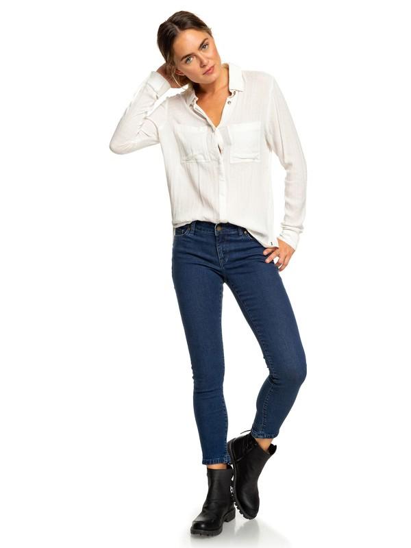 0 Suntrippers Skinny Fit Jeans Blue ERJDP03204 Roxy