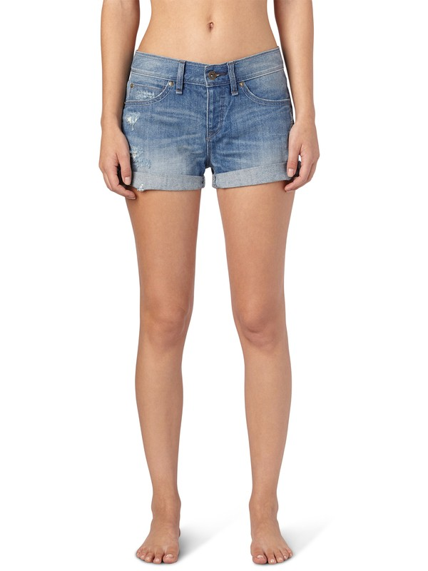 0 Tomboy Vintage Medium Light Blue Shorts  ERJDS00024 Roxy