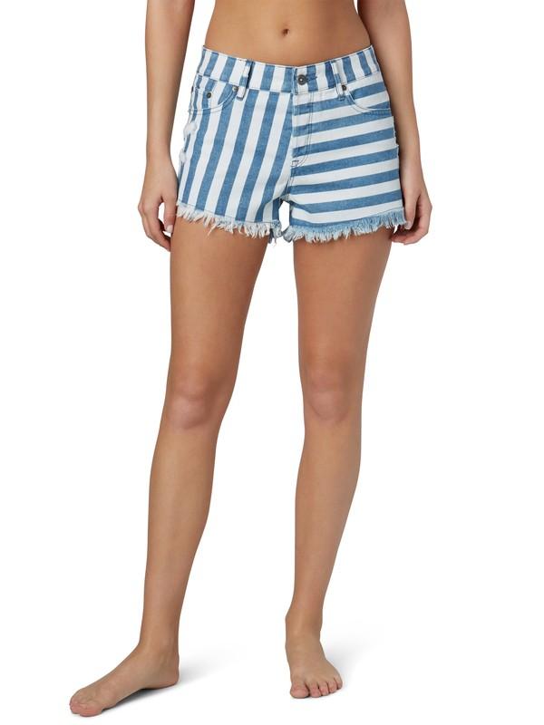 0 Smeaton Stripe Shorts  ERJDS00034 Roxy