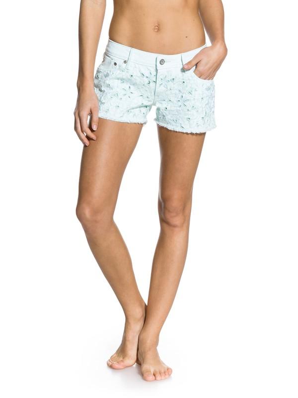 0 Lovin Eyelet Shorts  ERJDS00037 Roxy