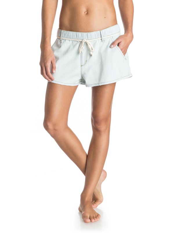 0 Beachy Beach Denim Shorts  ERJDS03037 Roxy