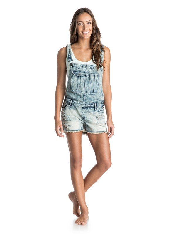 0 Over the Moon Shortalls  ERJDS03040 Roxy
