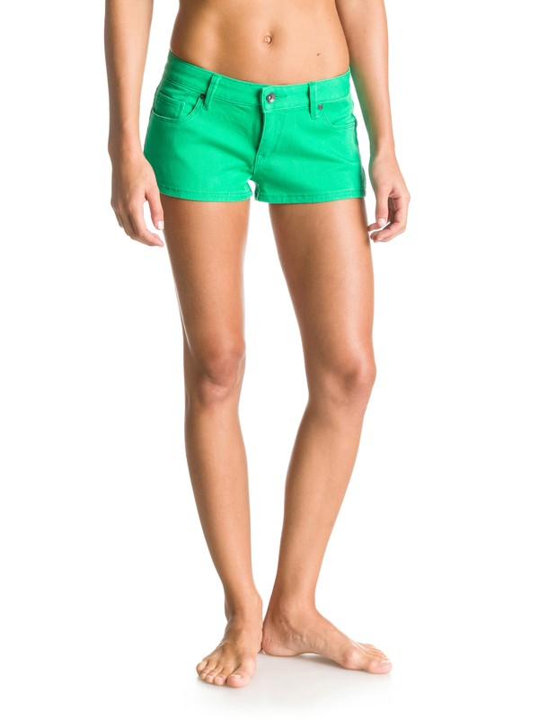 0 Forever Color Denim Shorts  ERJDS03046 Roxy
