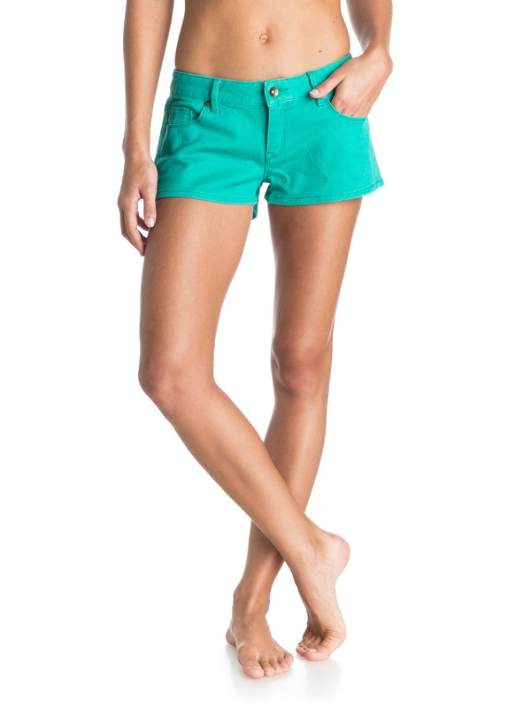 0 Forever Colors Denim Shorts  ERJDS03051 Roxy