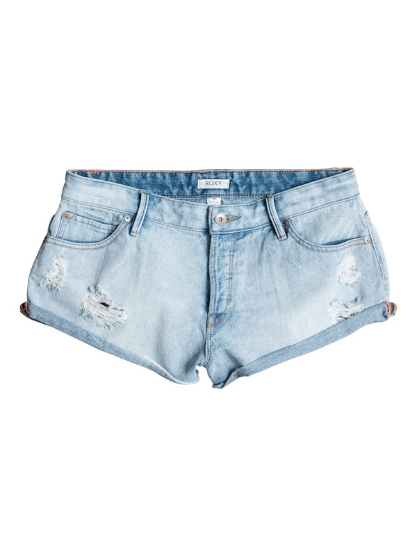 0 Vanilla Denim Shorts  ERJDS03052 Roxy