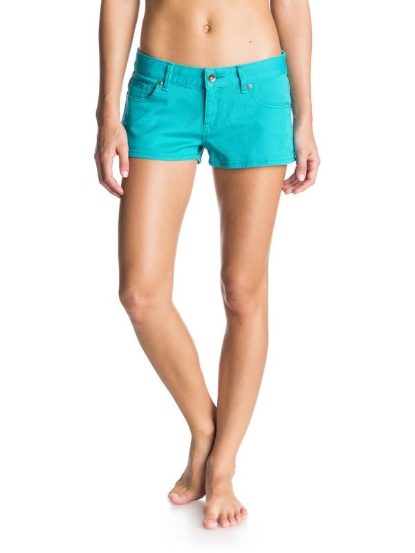 0 Forever Colors Denim Shorts  ERJDS03063 Roxy
