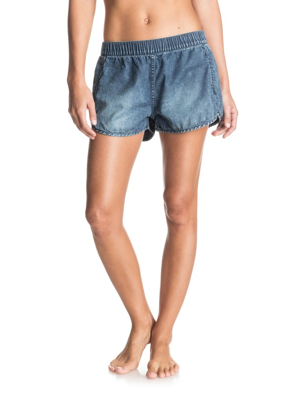 0 Popoyo - Denim Shorts  ERJDS03079 Roxy