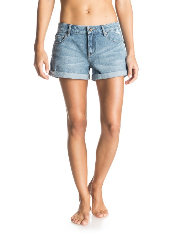 0 Seabury Denim Shorts  ERJDS03080 Roxy