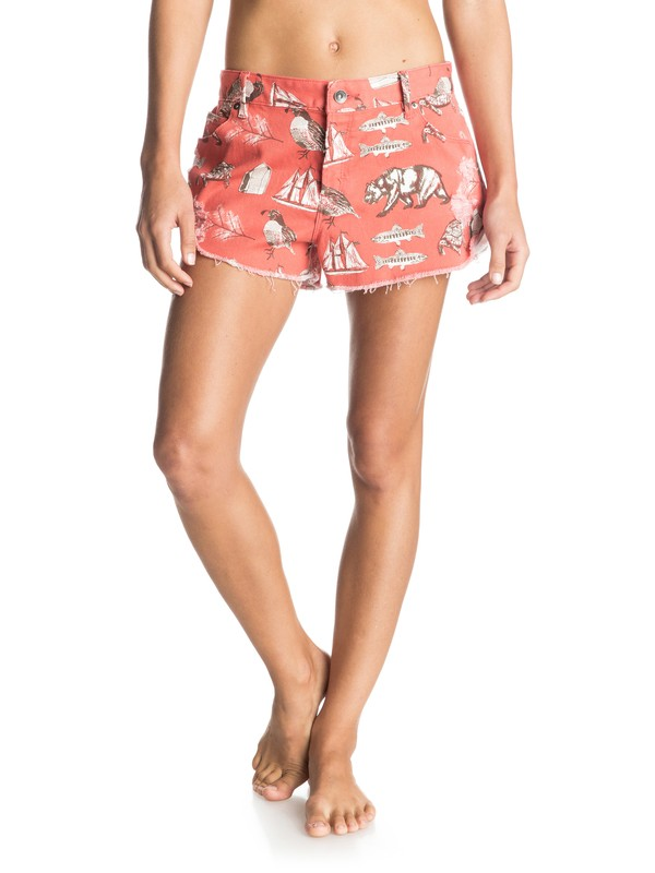 0 Michael Leon Carmel Coast Denim Shorts  ERJDS03083 Roxy