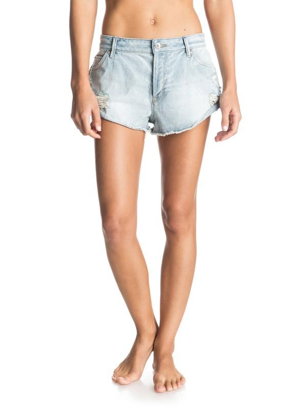 0 Peaceful Denim Shorts  ERJDS03084 Roxy