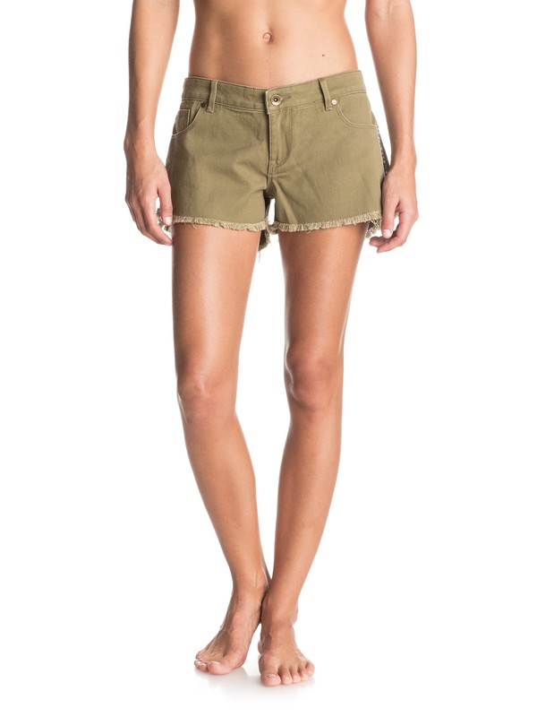 0 Luna Sea Denim Shorts  ERJDS03097 Roxy