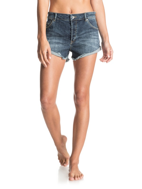 0 My Boyfriend Denim Shorts  ERJDS03107 Roxy