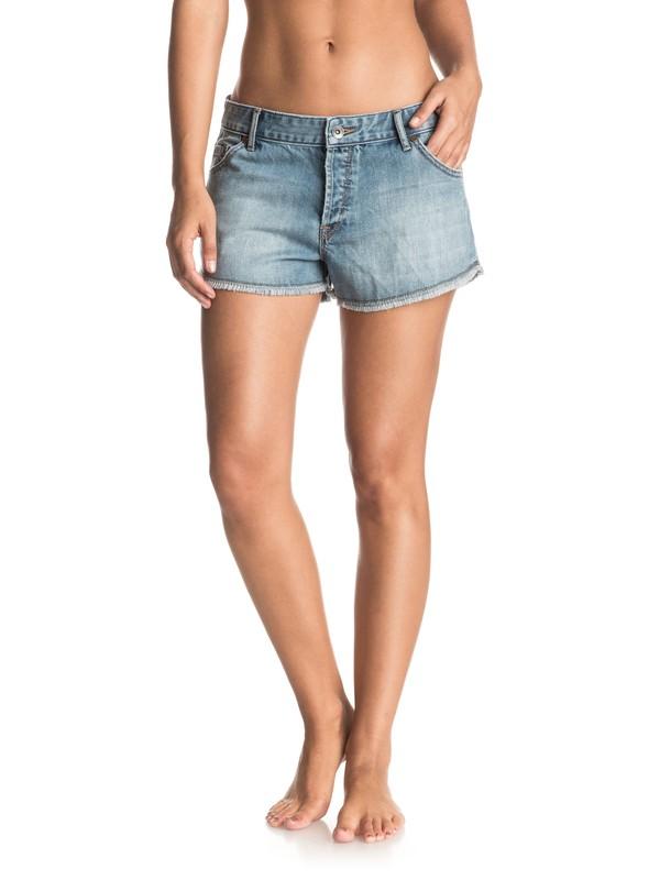 0 Always With You Cutoff Denim Shorts  ERJDS03113 Roxy