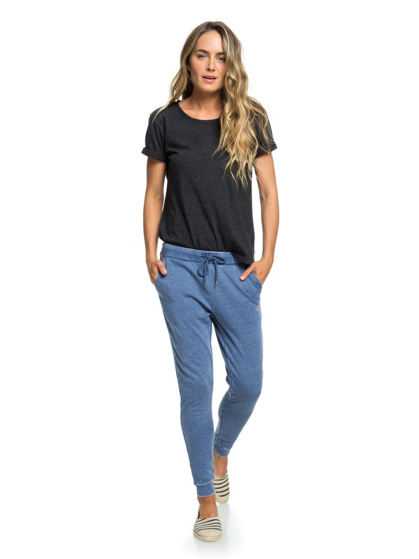 0 Tides Turning C Joggers Blue ERJFB03197 Roxy
