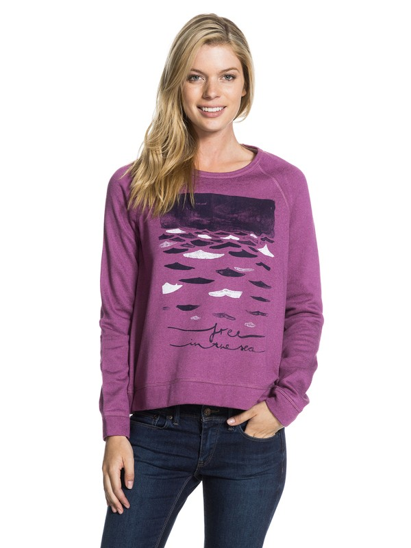 0 Love your Pullover A Fleece  ERJFT03076 Roxy
