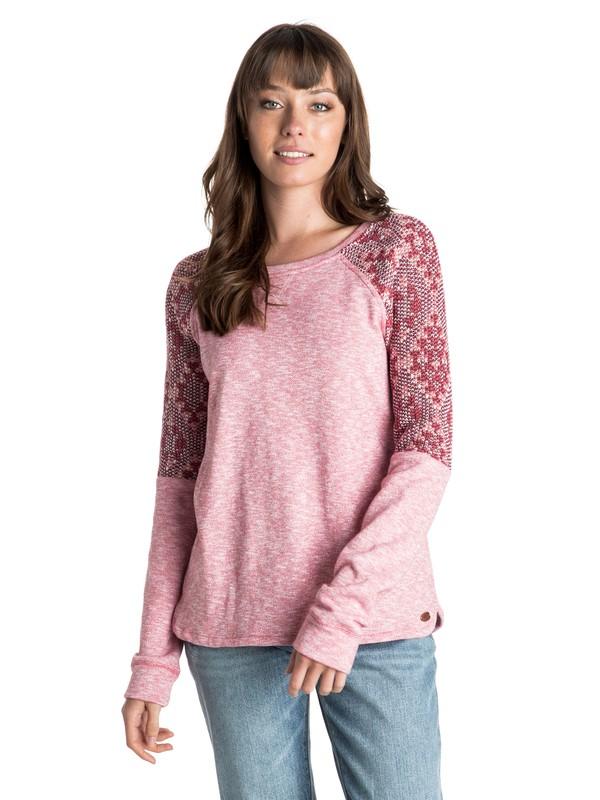0 Stolen Dance Pullover Sweatshirt  ERJFT03131 Roxy