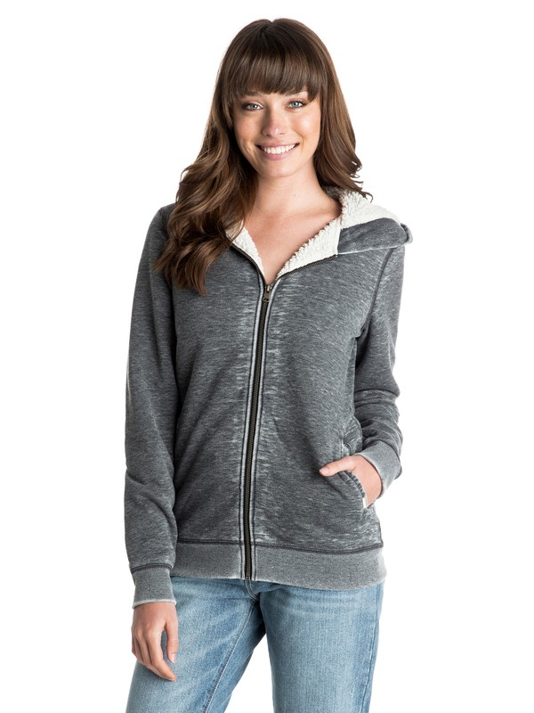 0 Nothing Like This Zip Hoodie  ERJFT03161 Roxy