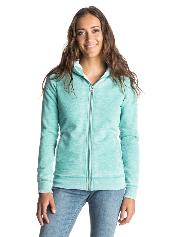 0 Nothing Like This Zip Hoodie  ERJFT03162 Roxy