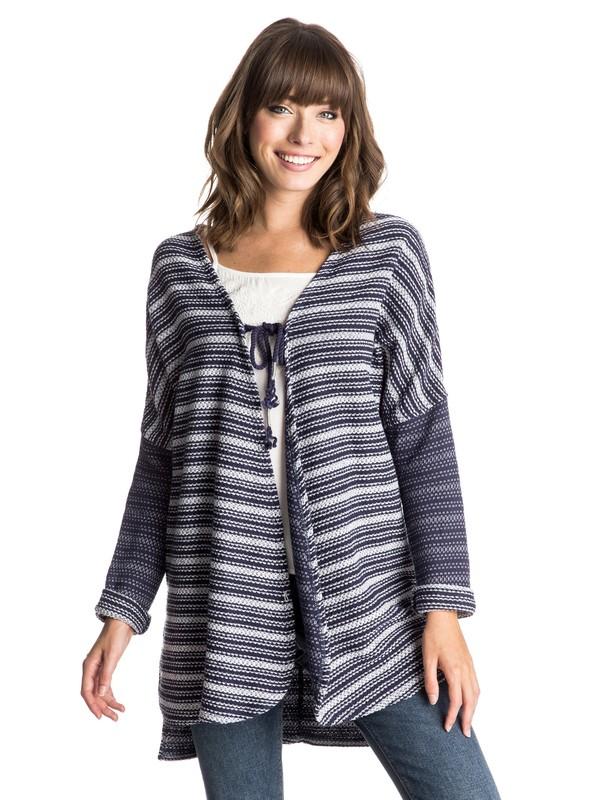0 Caloundra Tie-Front Sweatshirt  ERJFT03213 Roxy