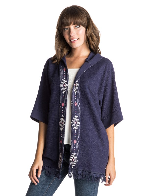 0 Medina Escape  Hooded Poncho  ERJFT03282 Roxy