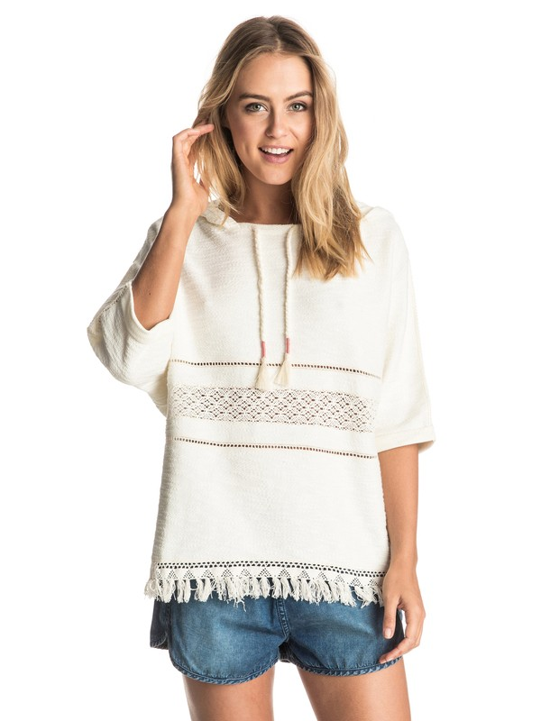 0 Safi Beach Hooded Poncho  ERJFT03285 Roxy