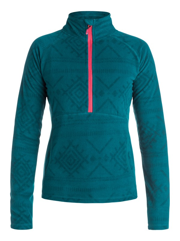 0 Cascade Half-Zip Fleece Pullover  ERJFT03310 Roxy