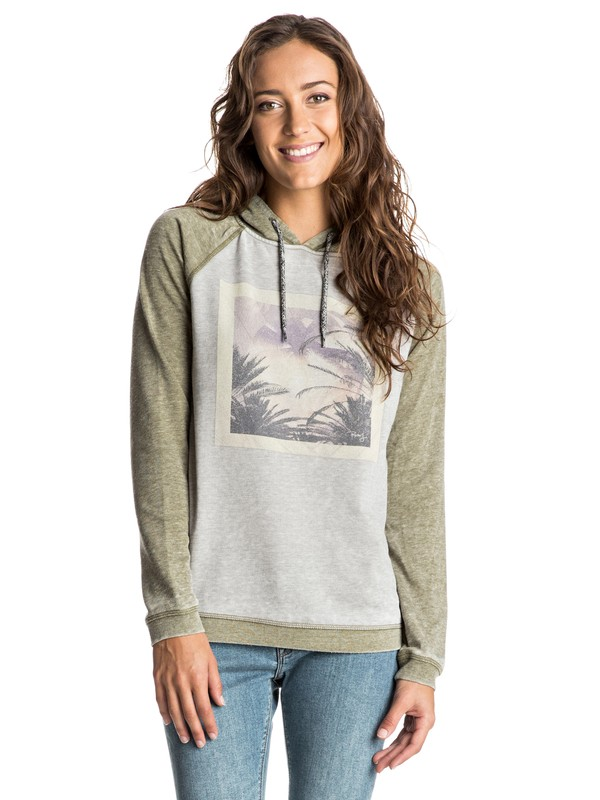 0 Sudadera con capucha Palm Bazaar Best Of Time  ERJFT03356 Roxy