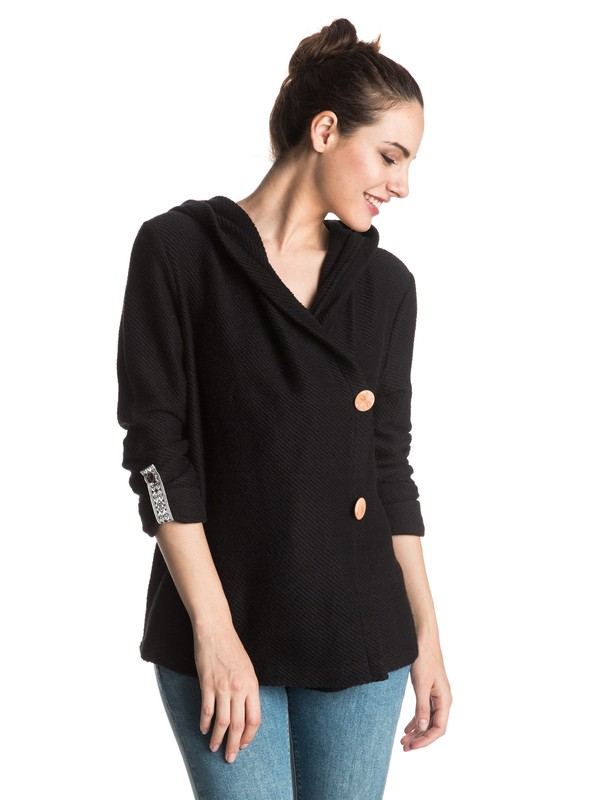 0 Knot A Care Cardigan Sweatshirt  ERJFT03389 Roxy