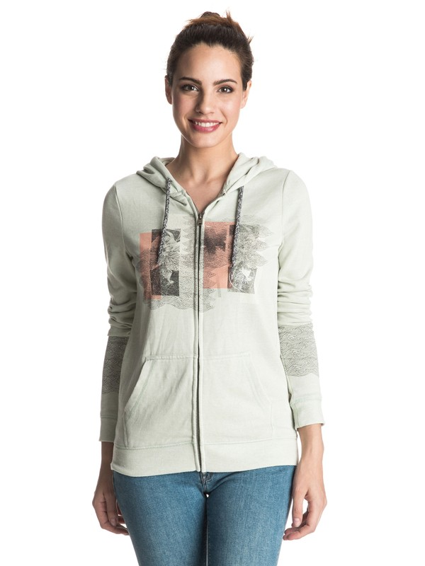 0 Sudadera de Cierre y capucha Tropical Bazaar New Solution  ERJFT03395 Roxy