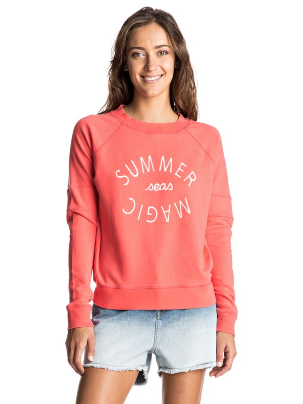 0 Hollow Dance A Pullover Sweatshirt  ERJFT03465 Roxy