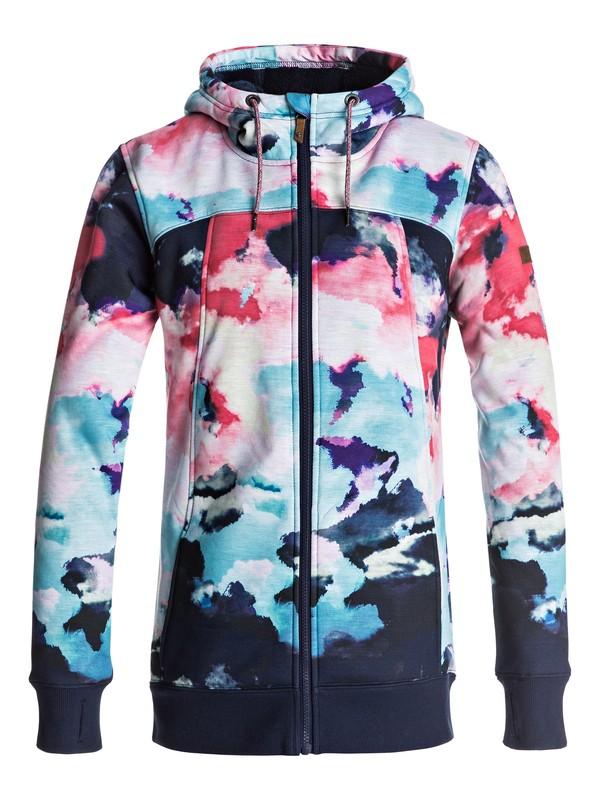 0 Frost Zip Up Sherpa Hoodie  ERJFT03554 Roxy