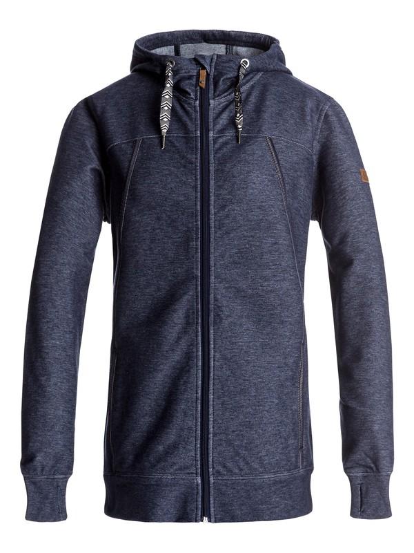 0 Frost - Zip-Up Hoodie for Women Blue ERJFT03555 Roxy