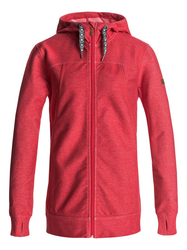 0 Frost - Zip-Up Hoodie for Women Red ERJFT03555 Roxy