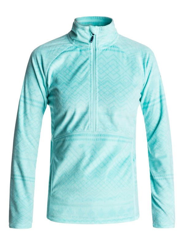 0 Cascade Half-Zip Polar Fleece  ERJFT03562 Roxy