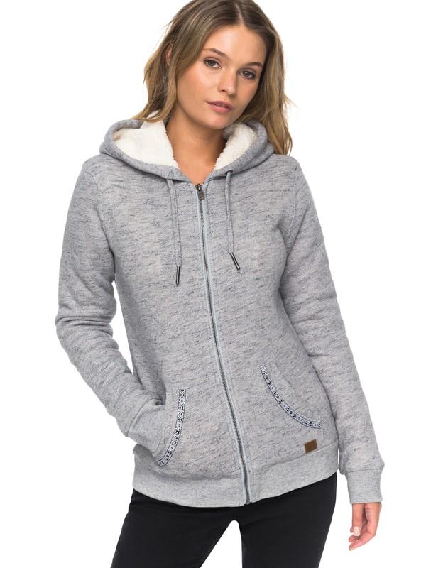 0 Trippin Sherpa - Sudadera con capucha y cremallera para Mujer  ERJFT03598 Roxy
