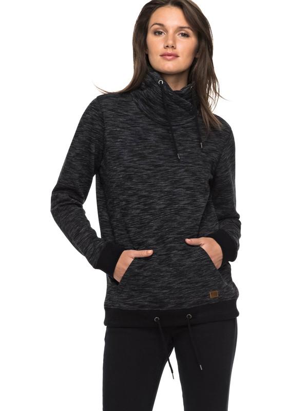 0 Sandy Dreams Wrap Collar Sweatshirt  ERJFT03609 Roxy