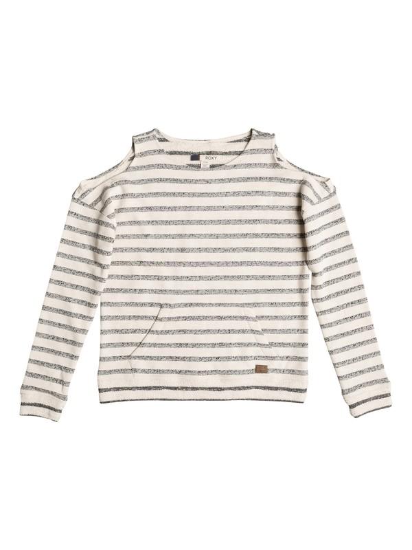 0 High Sun Cold Shoulder Sweatshirt  ERJFT03614 Roxy
