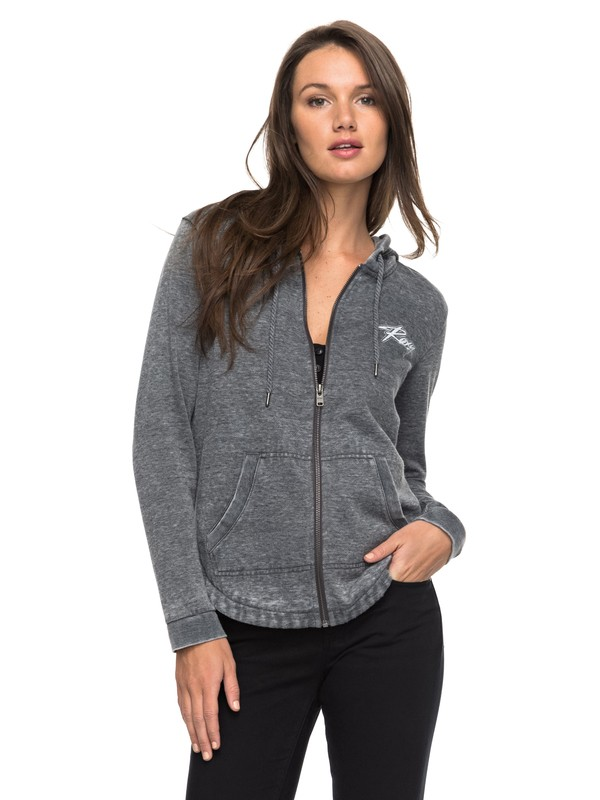 0 Wiped Out A Zip Hoodie  ERJFT03616 Roxy