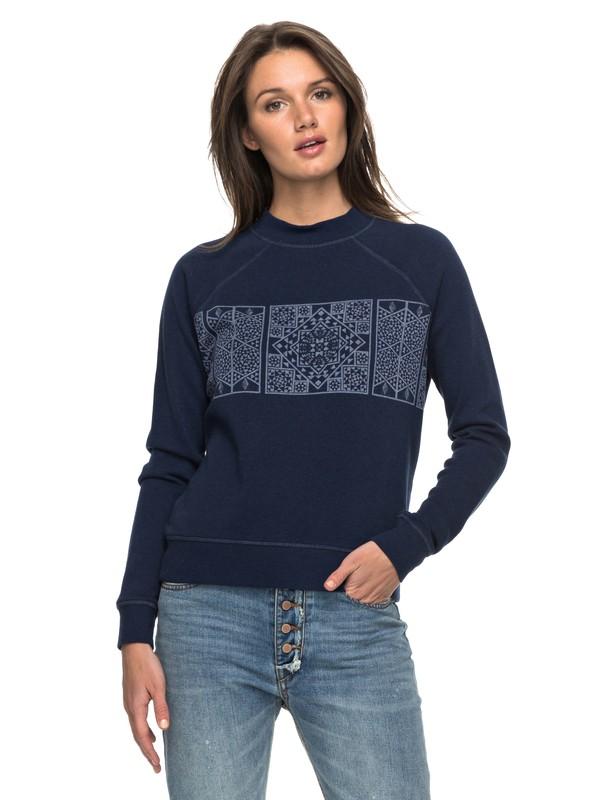 0 Tidal Nights A Pullover Sweatshirt  ERJFT03636 Roxy