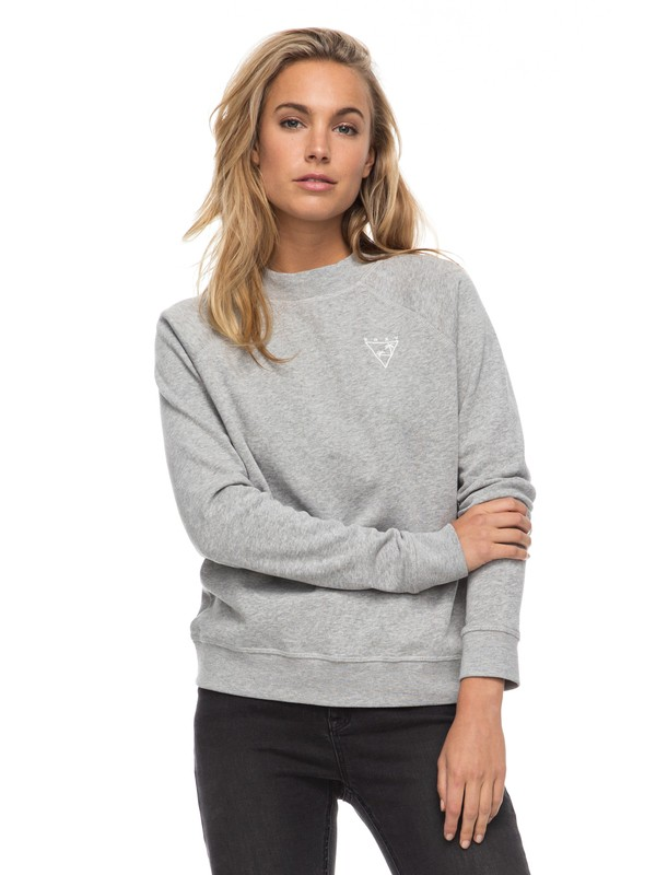 0 Tidal Nights B - Sweatshirt for Women Grey ERJFT03637 Roxy