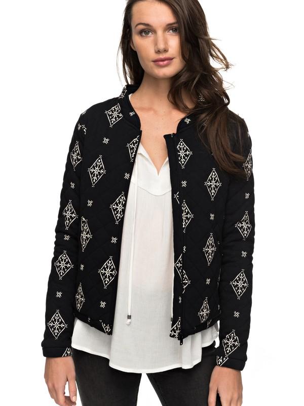 0 Discovering Twins - Jersey Jacket for Women Black ERJFT03646 Roxy